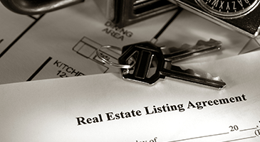 Signing a Listing Agreement